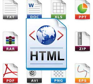 HTML Conversion Process Outsource